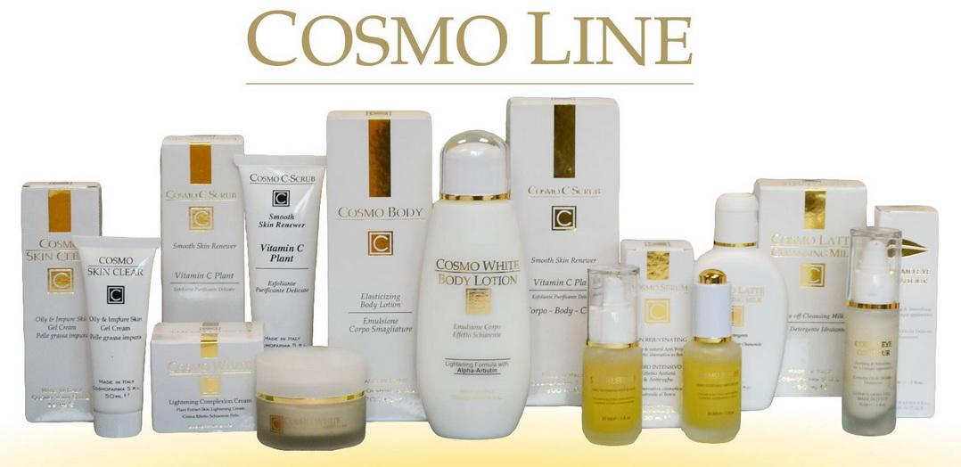 Přírodní omlazující kosmetika značky Anti Age Cosmo od kosmetické firmy Cosmofarma